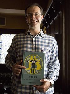 Victor Escudero con BitcoinComic